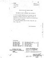 Memos Rescue of the SS Mayaguez and Its Crew